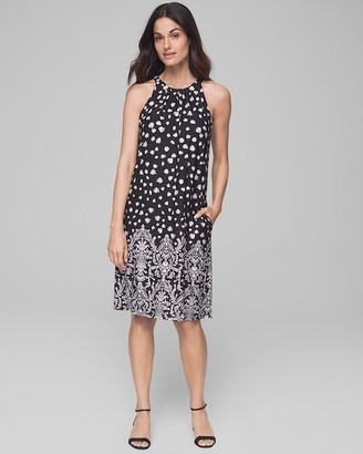 Invisible Support Built-In Bra Swing Dress