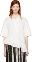 Marni White Asymmetric Shirt