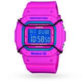 Baby-G Ladies Alarm Chronograph Watch BGD-501-4ER