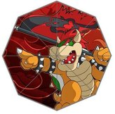 Custom Umbrella Mario vs Bowser Custom Folding Umbrella Personalized Foldable Raining Umbrella