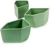 AERIN 3-Piece Ceramic Geo Bowl Set