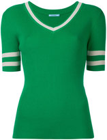 GUILD PRIME banded half sleeve sweater - women - Cotton/Nylon/Rayon - 34