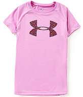 Under Armour Big Girls 7-16 Big Logo Tee