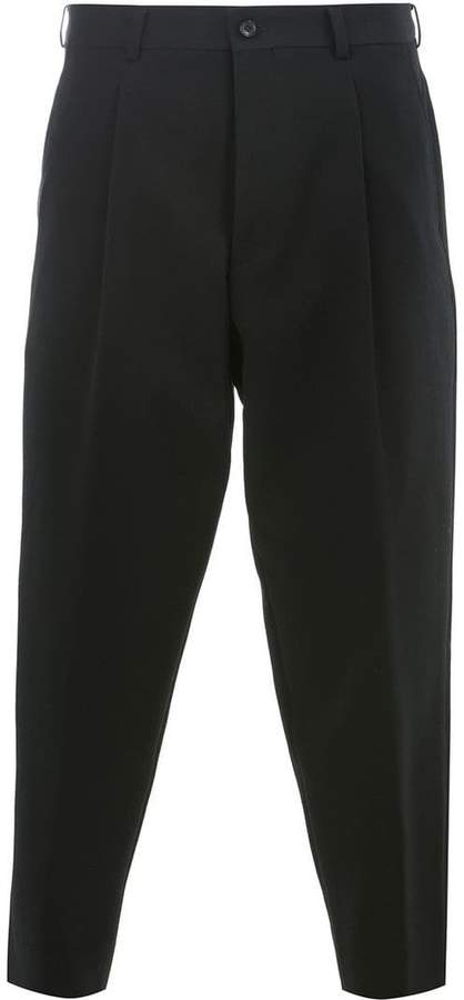 Comme des Garcons cropped tapered trousers