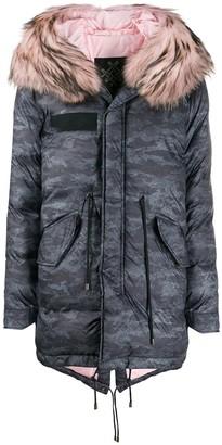 Mr & Mrs Italy Padded Parka Coat