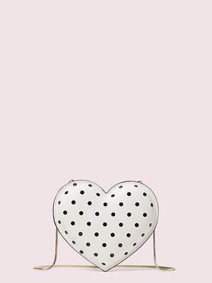 Kate Spade 3D Cabana Dot Heart Crossbody