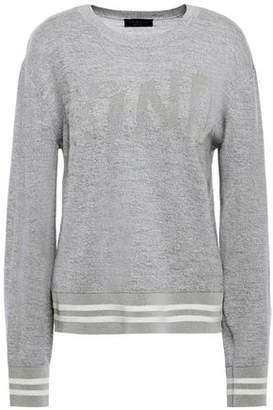 Rag & Bone Melange Intarsia Wool-blend Sweater