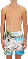 Vilebrequin Men's Merise Vitali Rocks Swim Trunks