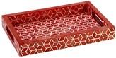 Mela Artisans Starshine in Marsala Red Tray, Large