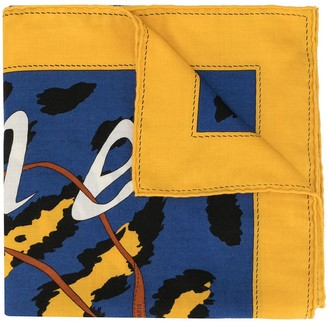 Hermes Pre-Owned Logo Stole