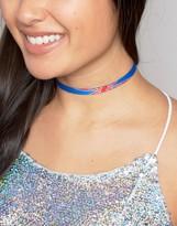 Asos Limited Edition Union Jack Choker Necklace