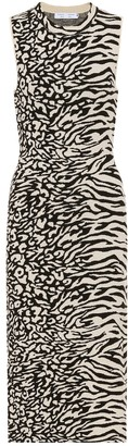 Proenza Schouler Animal-jacquard dress