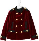 Dolce & Gabbana velvet military jacket