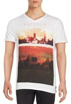 Buffalo David Bitton Nelonzo Short Sleeve Graphic Print T-Shirt