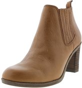 Dr. Scholl's Womens London Leather Ankle Chelsea Boots Tan 8 Medium (B,M)