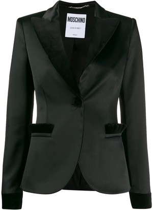 Moschino two tone blazer