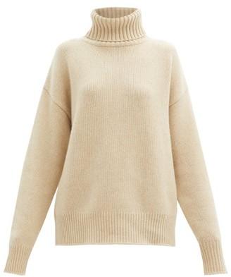 Extreme Cashmere No. 20 Oversize Xtra Stretch-cashmere Sweater - Cream