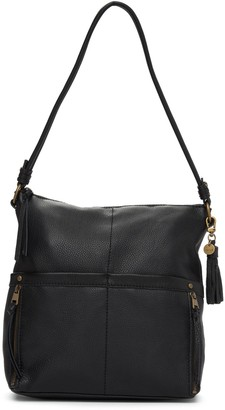 The Sak Leather Zip Hobo Bag