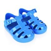 Dolce & Gabbana Dolce & GabbanaBlue Branded Jelly Sandals
