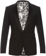 Alexander McQueen Single-breasted wool and mohair-blend blazer
