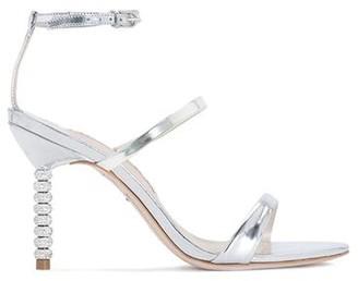 Sophia Webster Rosalind Crystal Silver Sandal 85