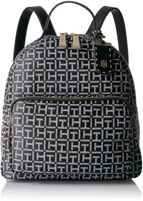 Tommy Hilfiger Women's Julia Jacquard Dome Backback Backpack