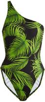 Norma Kamali Milo one-shoulder swimsuit