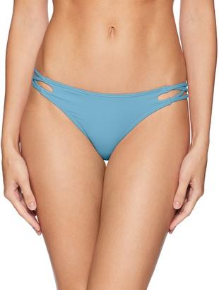 O'Neill Women's Salt Water Solids Criss Cross Bikini Bottom