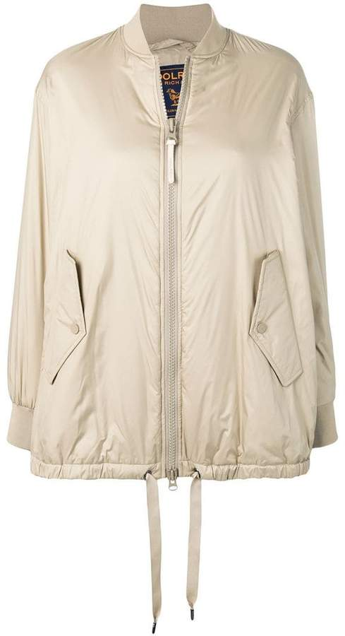 0d146bd0d zipped-up bomber jacket