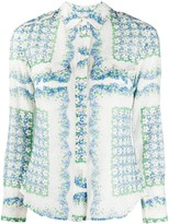 Tory Burch mixed floral print blouse
