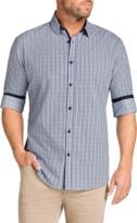 TAROCASH Baillie Jacquard Check Shirt