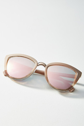 Anthropologie Fiona Cat-Eye Sunglasses By in Pink Size ALL