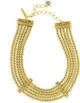 Oscar de la Renta Multi-Strand Golden Chain Necklace