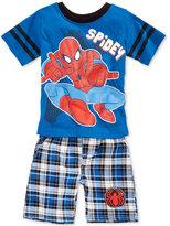 Nannette 2-Pc. Spider-Man Graphic-Print Shirt & Shorts Set, Toddler & Little Boys (2T-7)