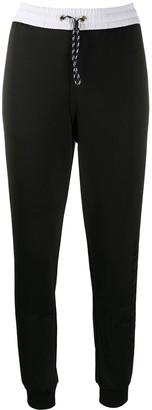 Armani Exchange Side-Stripe Logo Track Pants