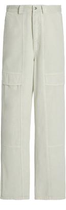 Sea Hildur Acid-Washed Straight-Leg Cargo Jeans