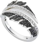 Stephen Webster White Gold Magnipheasant Pavé Diamond Split Ring