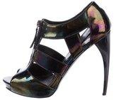 Alexander McQueen Iridescent Cage Sandals