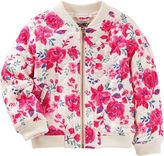 Osh Kosh Oshkosh Girls Lightweight Bomber Jacket - Preschool