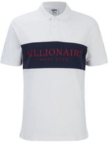 Billionaire Boys Club Men's Monaco Polo Shirt White/Navy