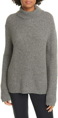 Jenni Kayne Cameau Seattle Wool & Camel Hair Blend Turtleneck Sweater