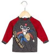 Little Marc Jacobs Boys' Printed Raglan Shirt