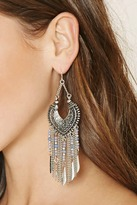 Forever 21 Chained Chandelier Earrings