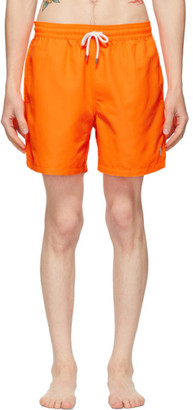 Polo Ralph Lauren Orange Traveler Swim Shorts