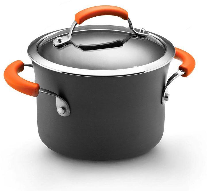 Rachael Ray 3-qt. nonstick covered saucepot