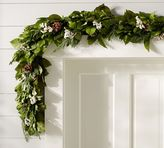 Pottery Barn Live Fresh Winter Garland