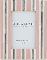 """Shiraleah Griggio Striped 4"""" x 6"""" Picture Frame"""