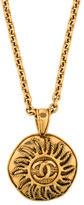 Chanel CC Medallion Pendant Necklace
