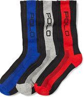 Ralph Lauren Striped Crew Socks