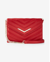 Express mini quilted cross body bag